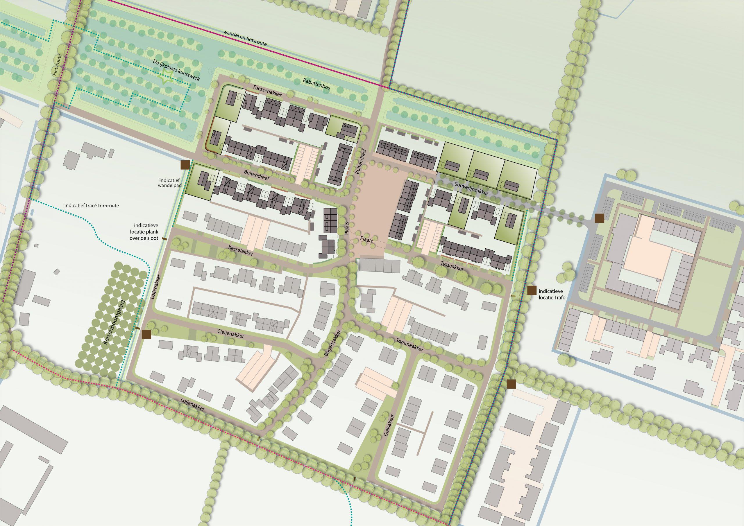 Nieuwe bouwkavels in Veghels Buiten